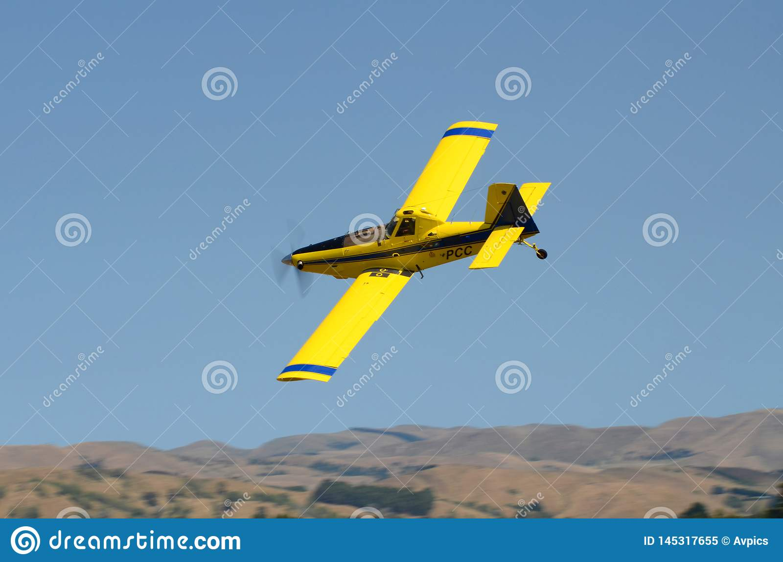 Air Tractor AT-402B ZK-PCC agricultural aircraft