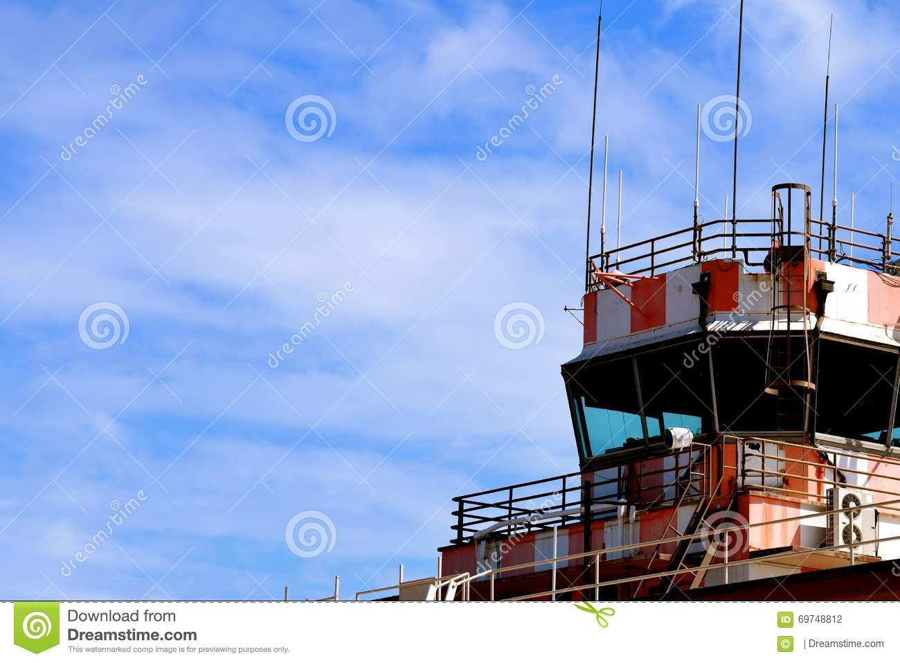 Air Traffic Control Tower stock photo  Image of