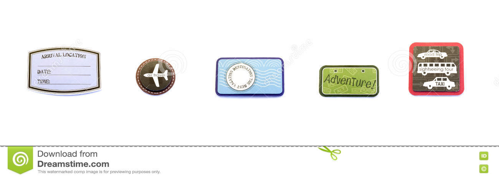 Air/Travel/Vacation Badges