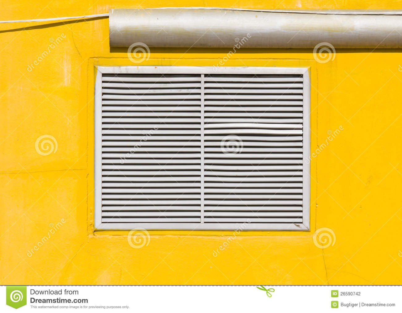 #C99B02 Air Vent On Yellow Wall Stock Photography Image: 26590742 Highly Rated 4589 Hvac Wall Vents wallpapers with 1300x1014 px on helpvideos.info - Air Conditioners, Air Coolers and more