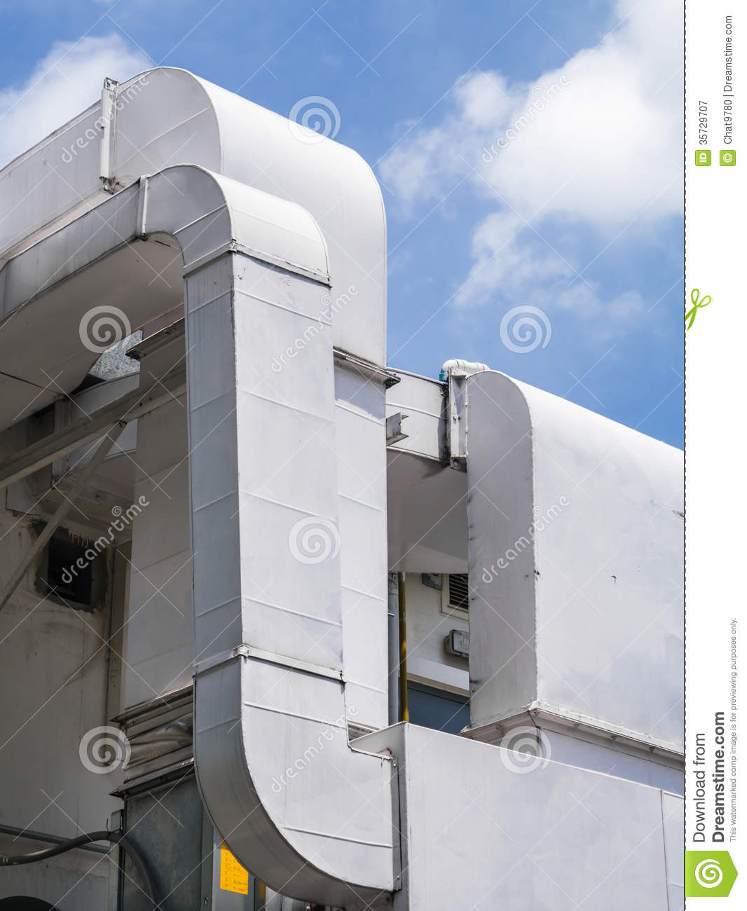 Air Ventilation Duct Royalty Free Stock Photography Image: 35729707 #82A328