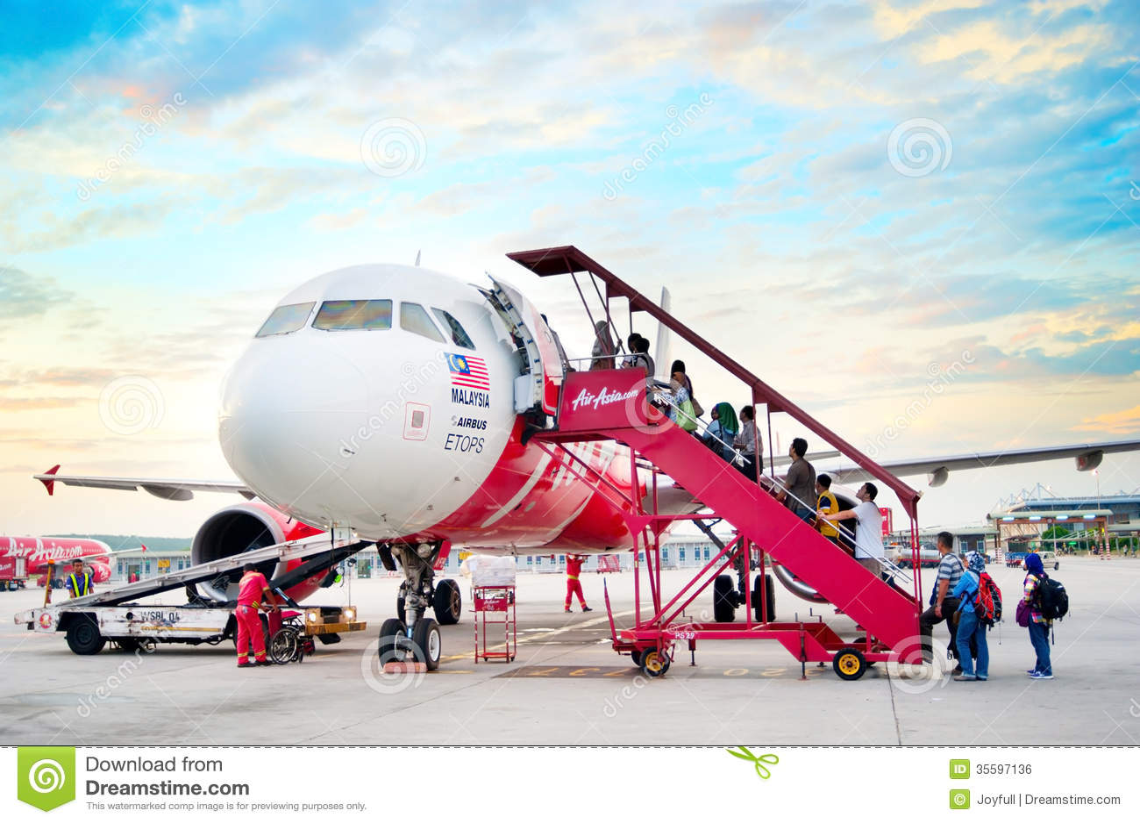 AirAsia abordażu samolot
