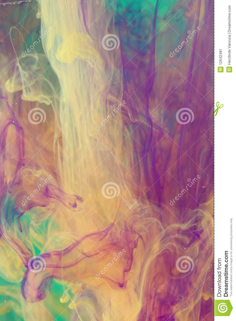 Airbrush Art Stock Image Image Of Artistic Colorful 12642481