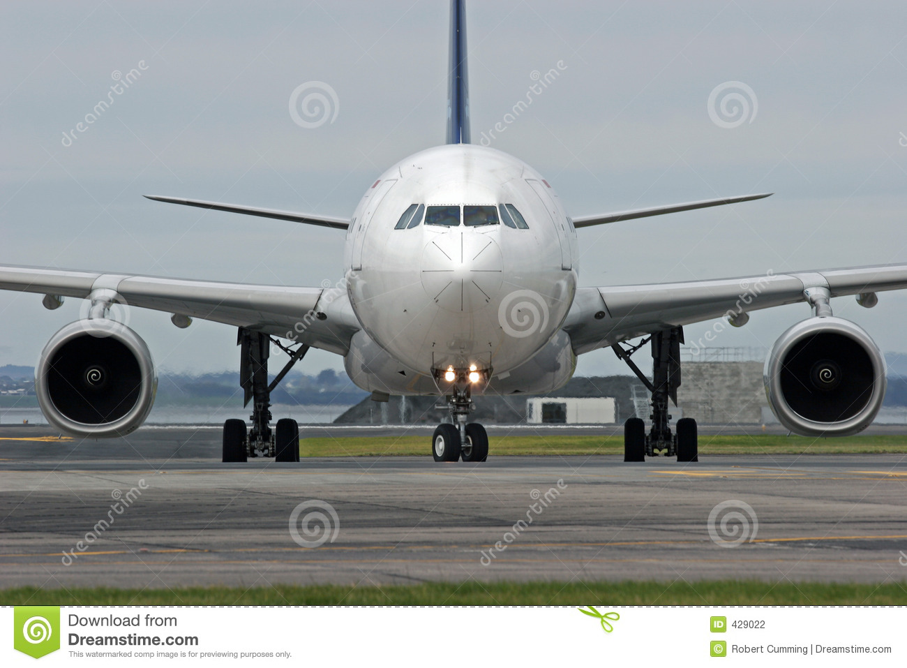 Airbus A330 stock photo  Image of airfield, airport, journey