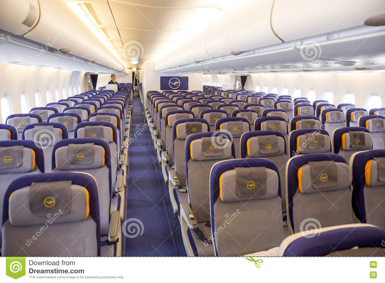 Airbus a380 airplane inside seats editorial photo image for A l interieur inside