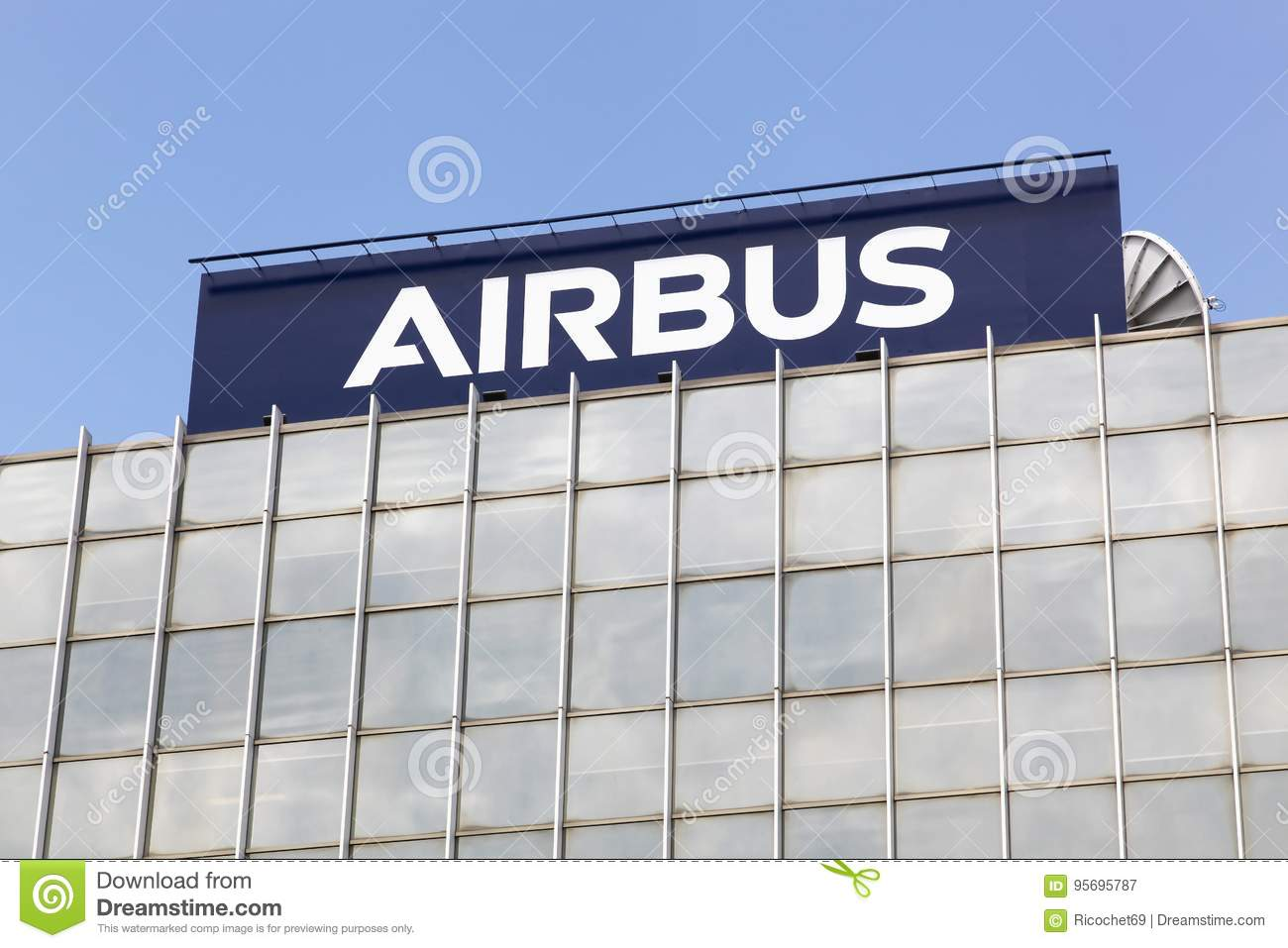 Airbus Building In Toulouse France Editorial Photography Image Of