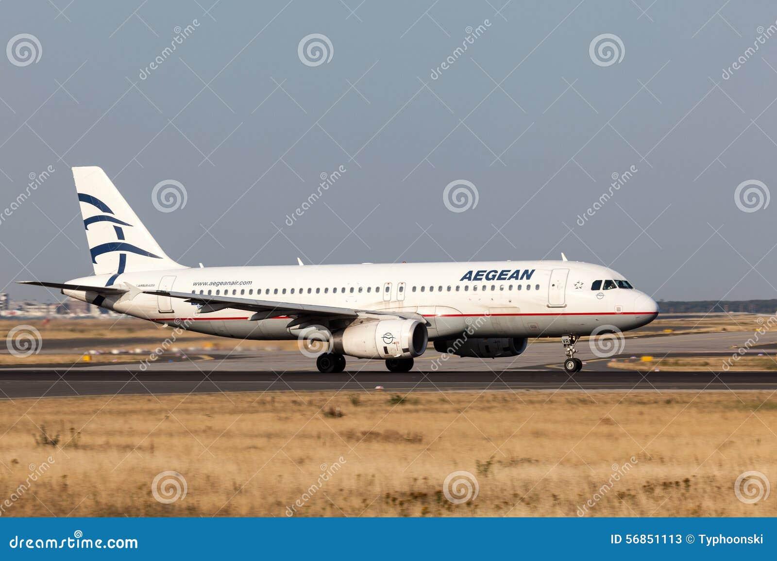 Airbus A320 di Aegean Airlines