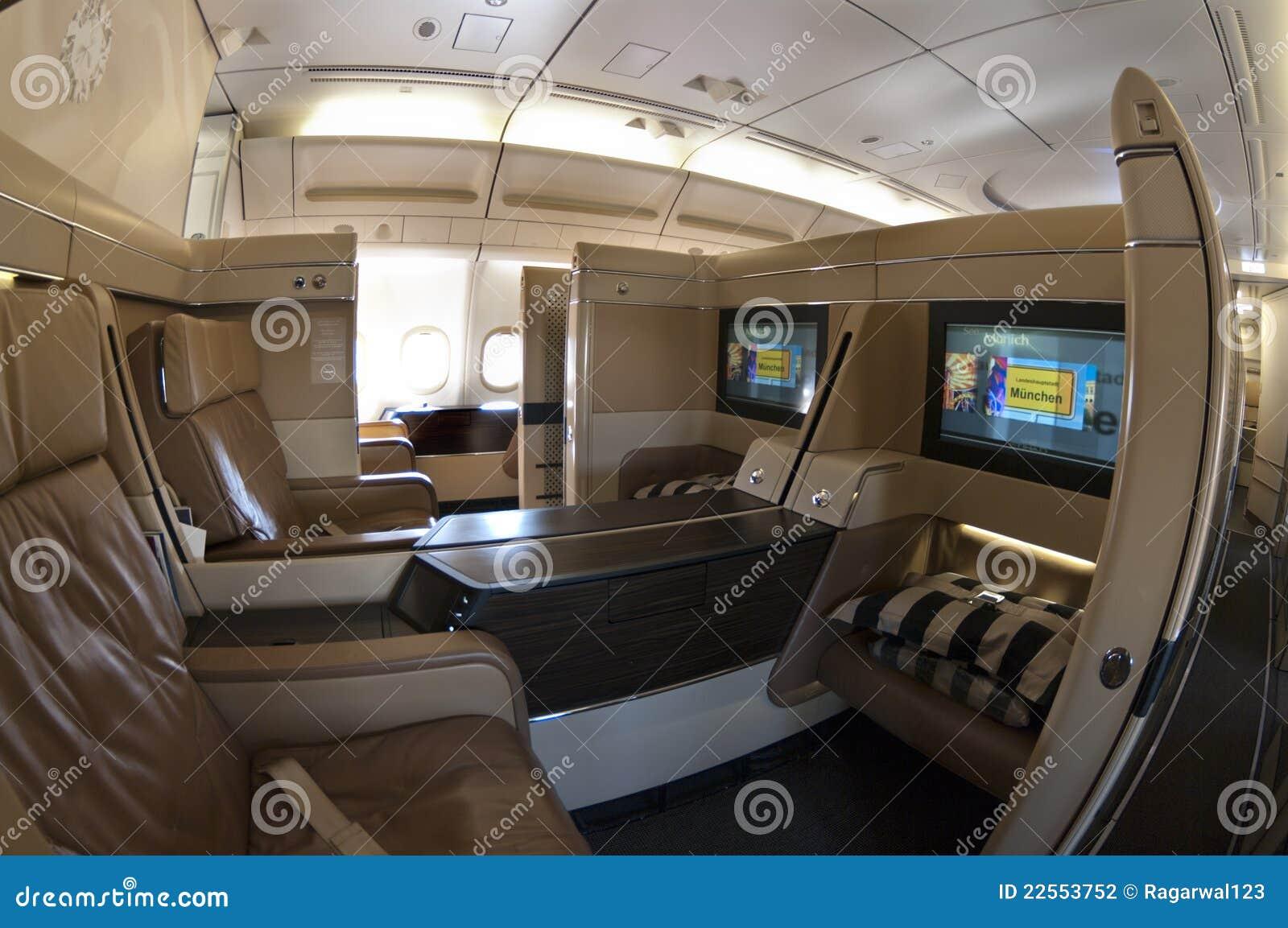 Airbus klasy pierwszy siedzenia