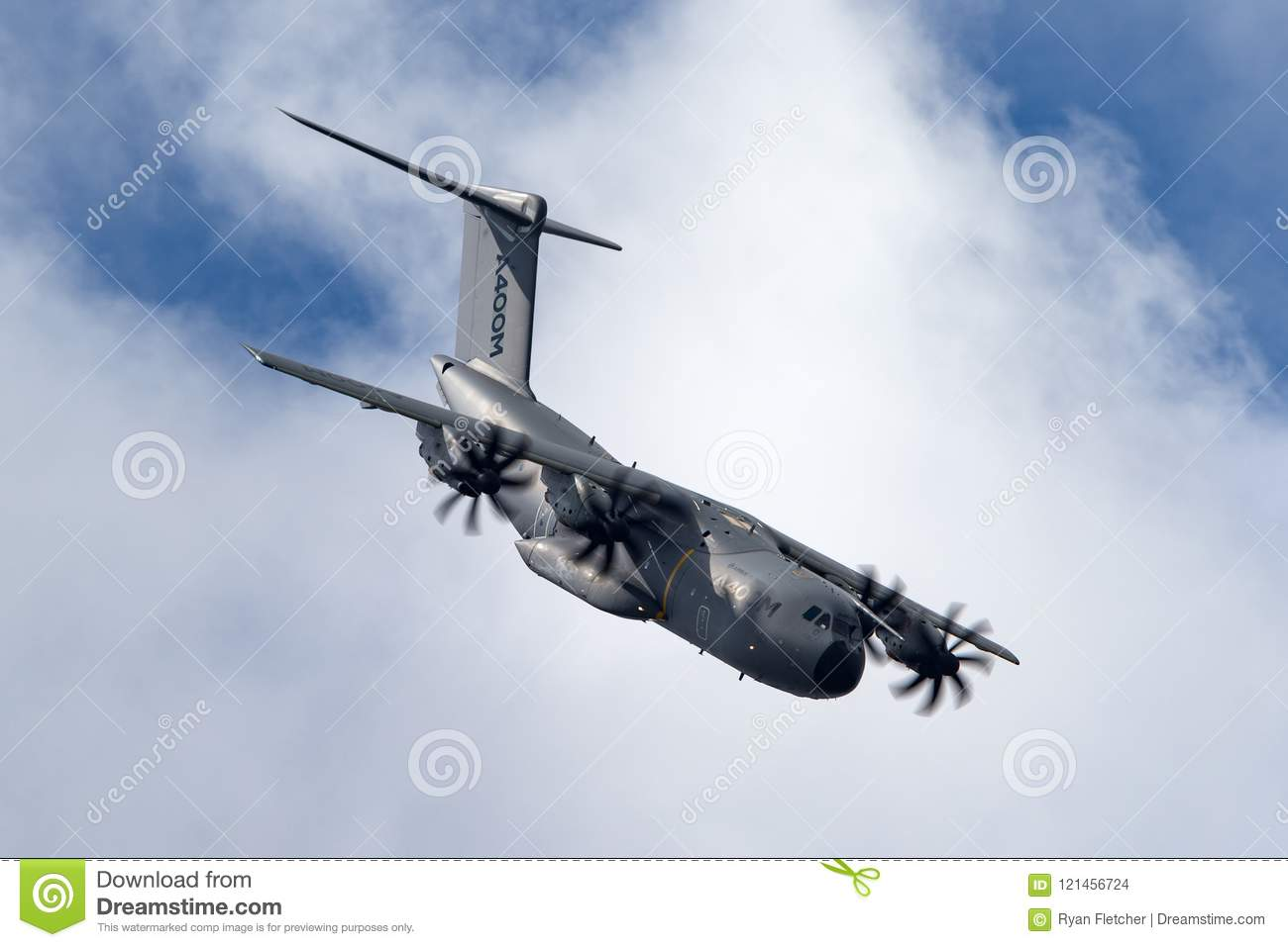 Airbus Military Airbus Defense And Space A400M Atlas Four Engined