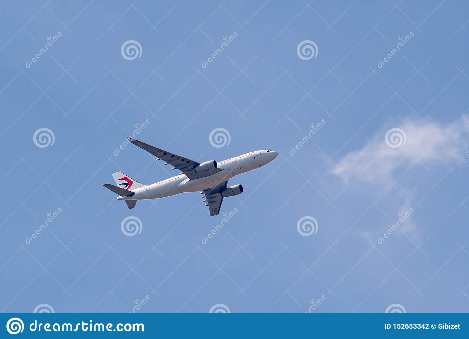 Airbus A330-243 operou-se por China Eastern Airlines em voo
