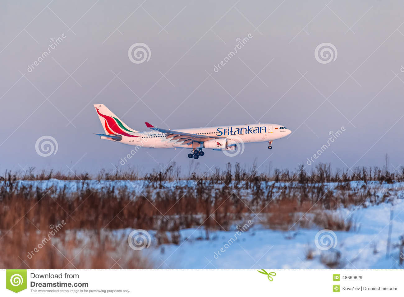 Airbus a330 SriLankan Airlines