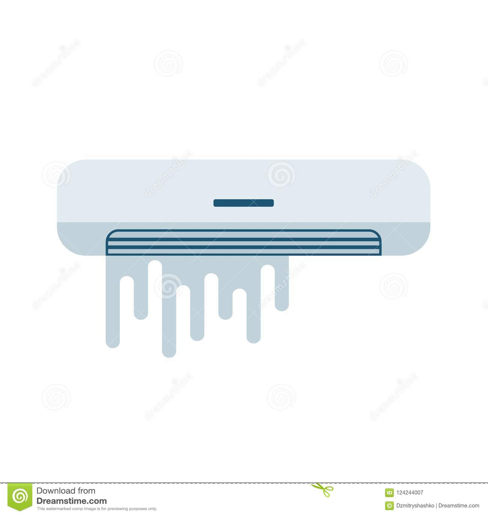 Airconditioner Gebroken pictogram