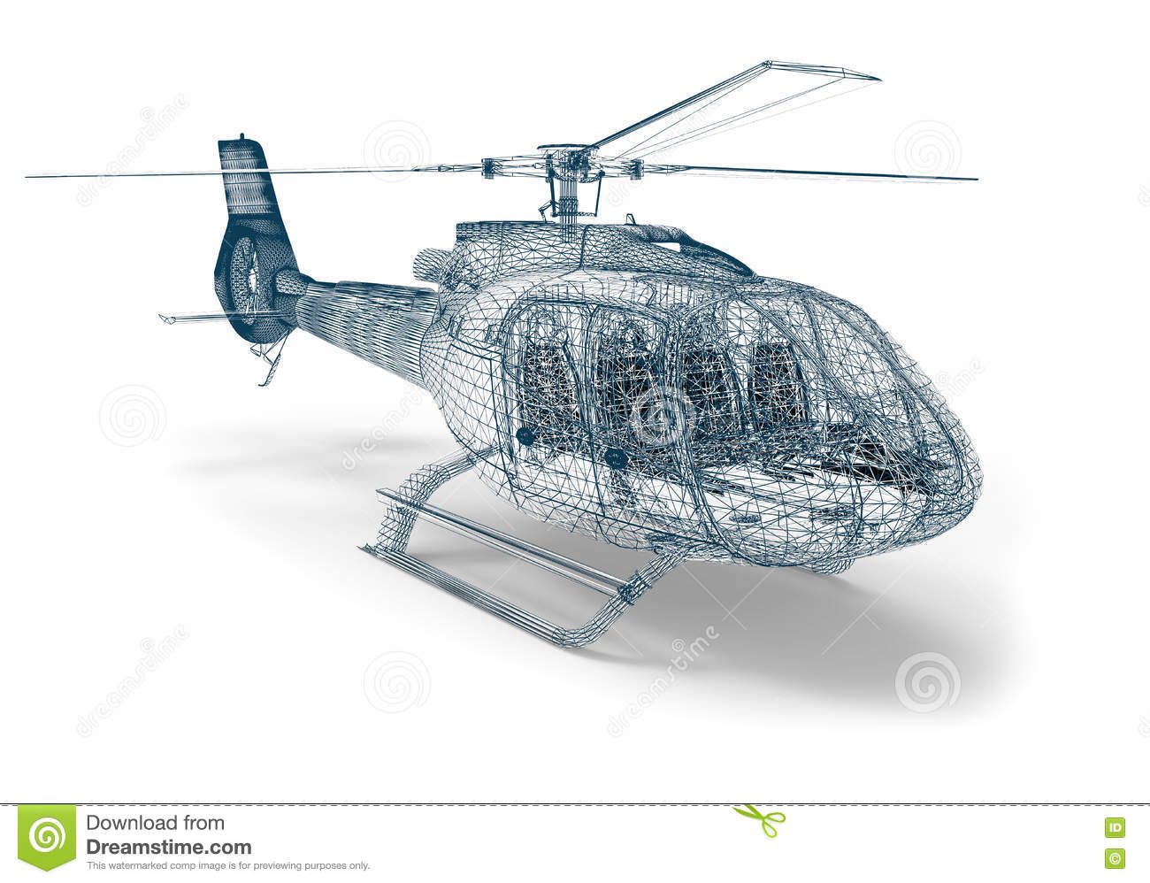 aircraft computer aided design stock illustration image