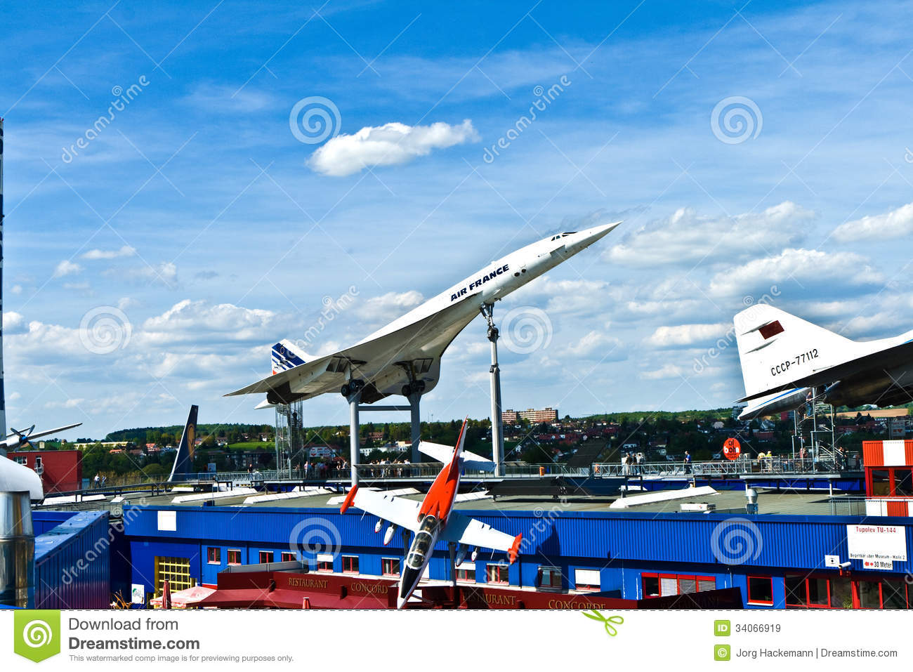 aircraft concorde in the museum editorial stock image image of sinsheim copyspace 34066919. Black Bedroom Furniture Sets. Home Design Ideas