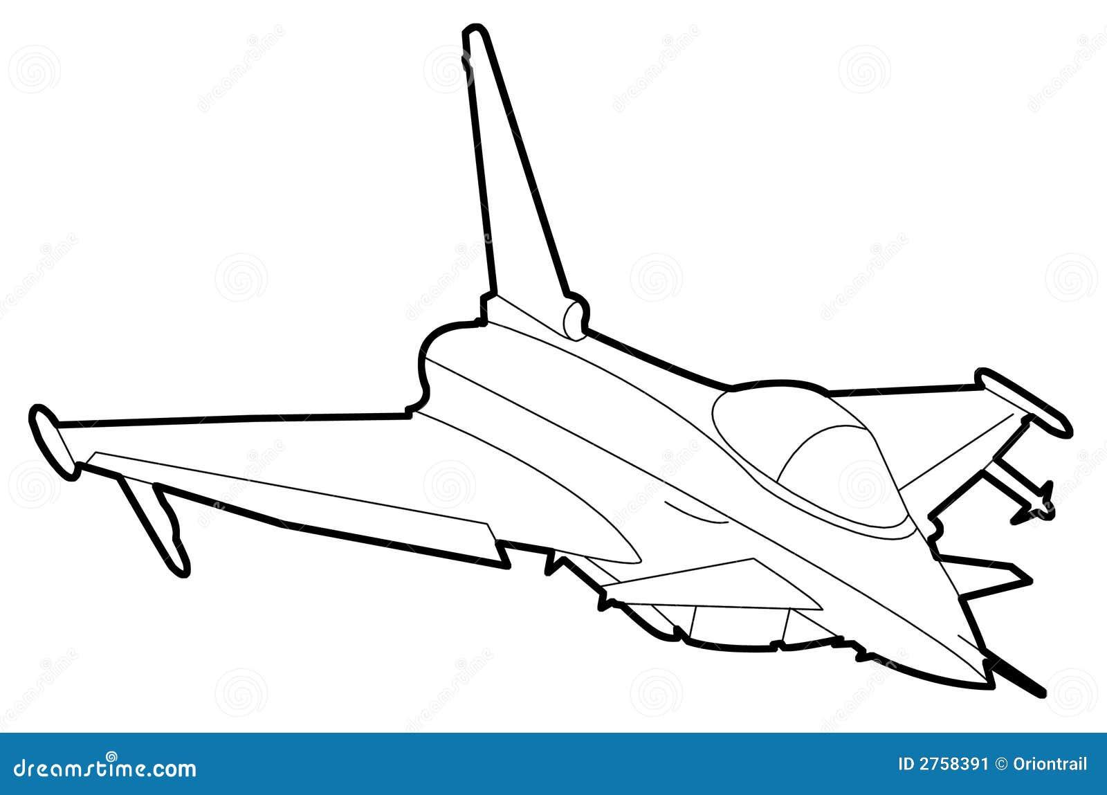 Aircraft Drawing 2 Stock Image - Image: 2758391