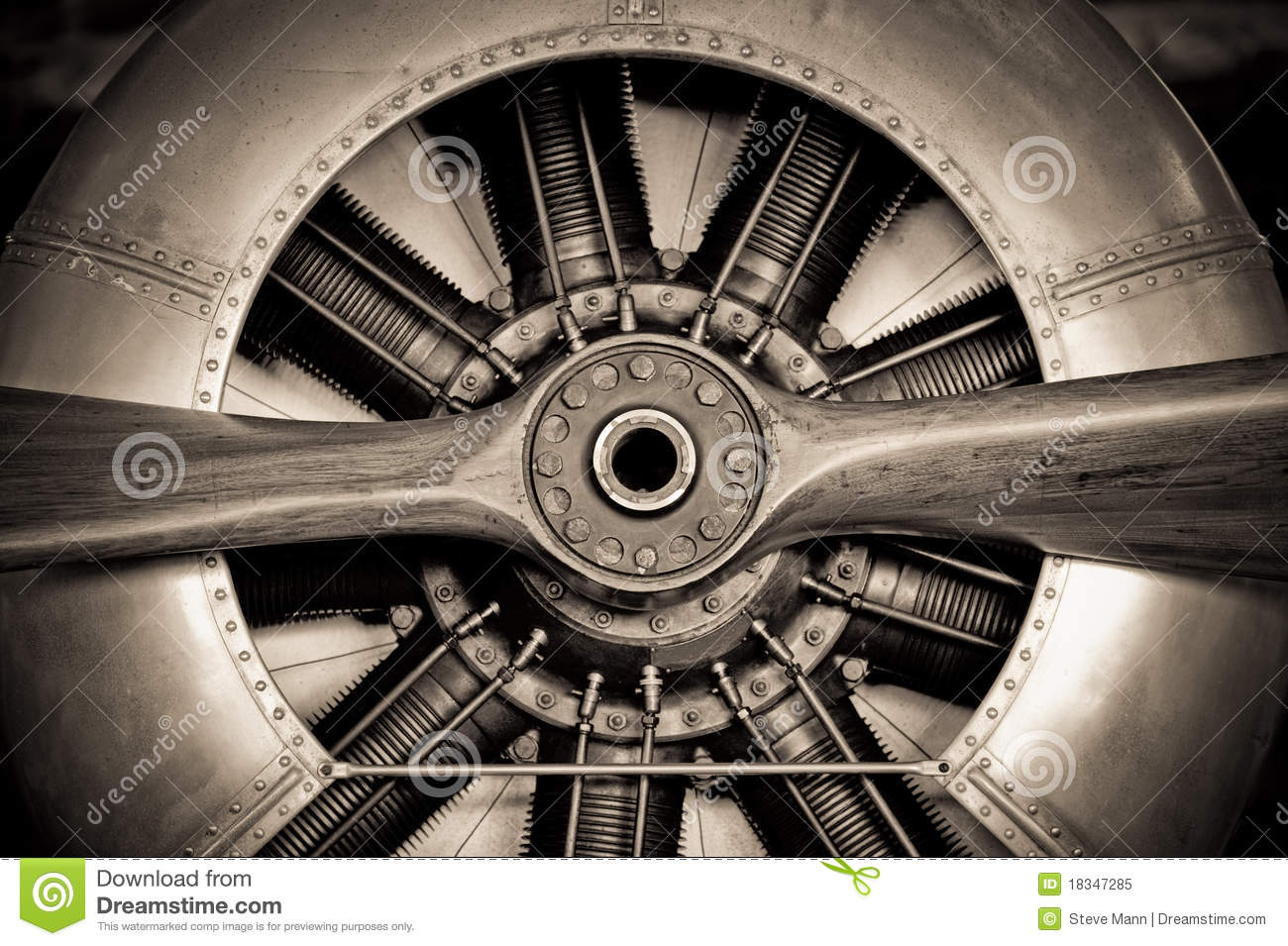 Download Aircraft engine stock image. Image of parts, blades, abstract - 18347285