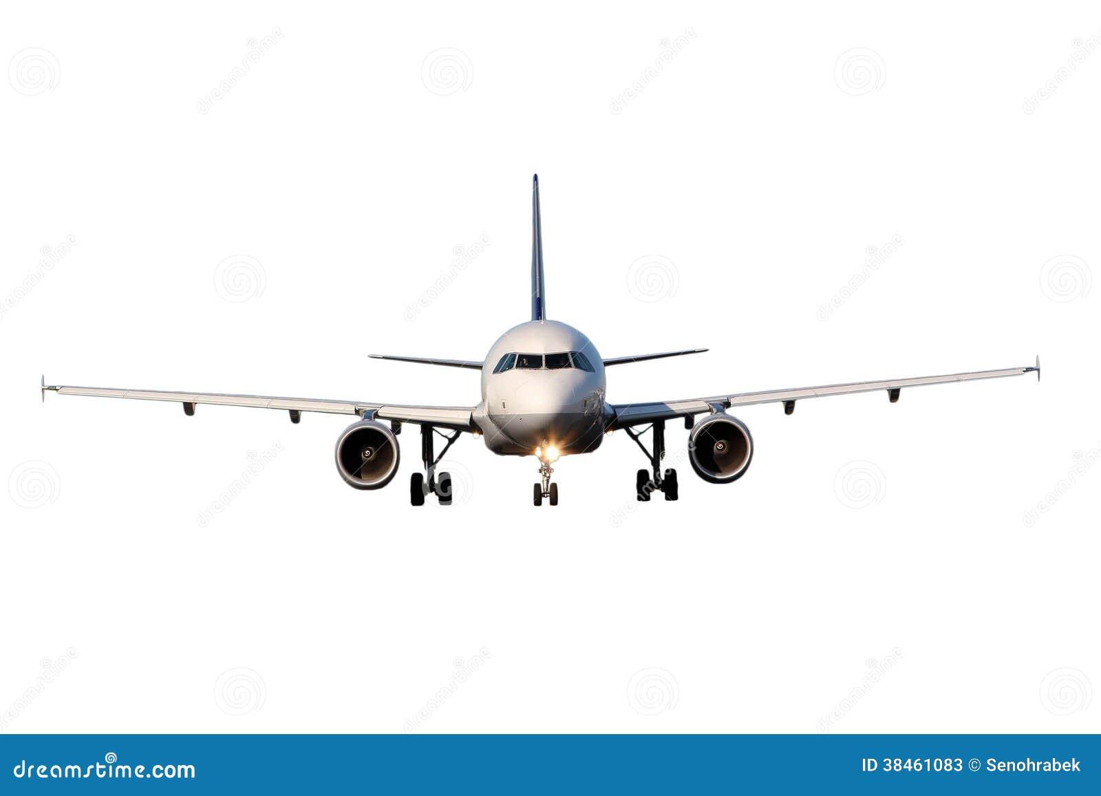Aircraft Isolated On White Background Stock Photos - Image: 38461083