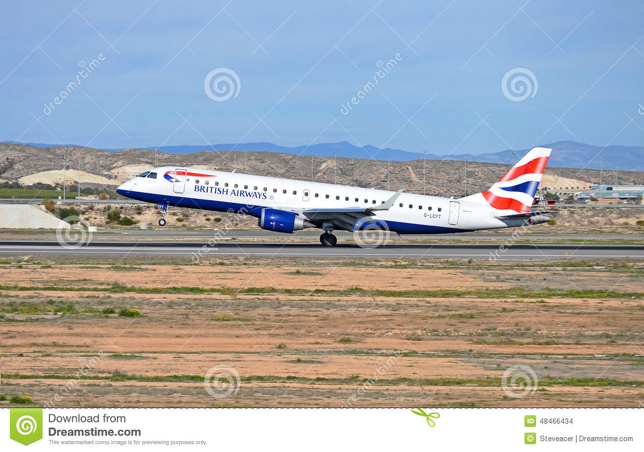 flights to alicante from gatwick british airways