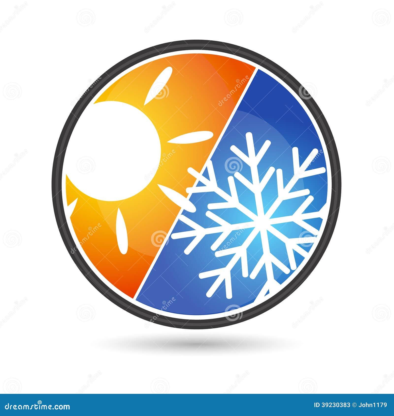 Aire acondicionado del dise o ilustraci n del vector for Simbolos aire acondicionado daikin