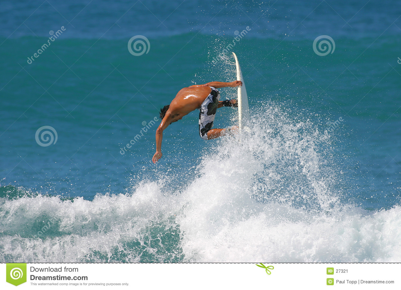Download Aire que practica surf imagen de archivo. Imagen de huésped - 27321