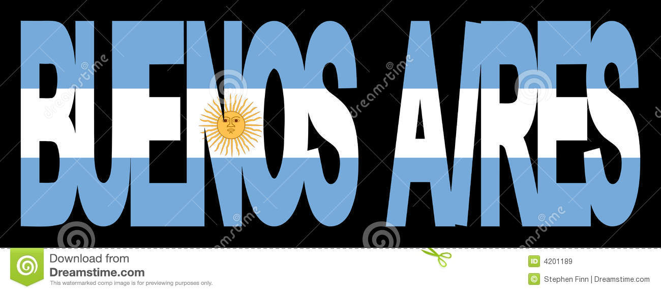 Airesbuenos flag text