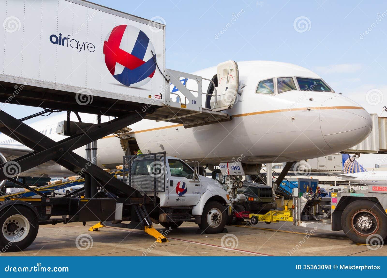 AirFayre die United Airlines verzorgen