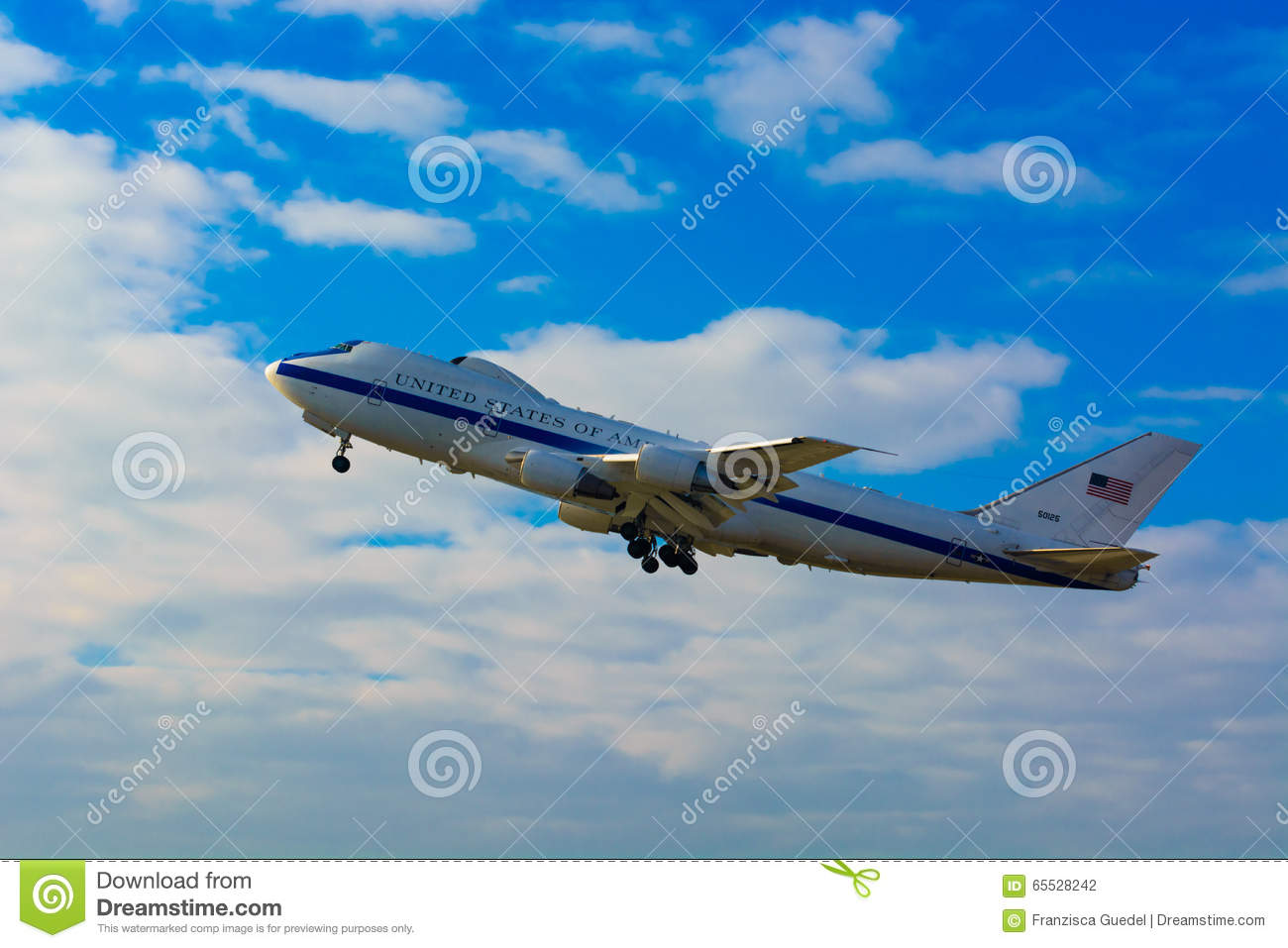 Airforce One Usaf Boeing E 4b Doomsday Plane 50125 National