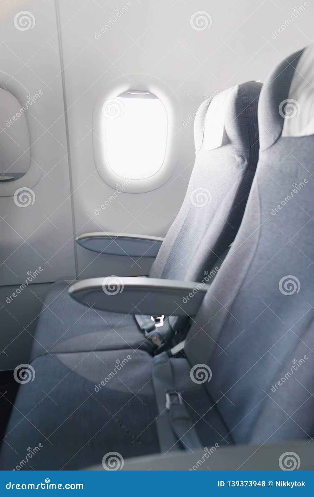 Remarkable Airline Passenger Seats And Side Window Stock Photo Image Inzonedesignstudio Interior Chair Design Inzonedesignstudiocom