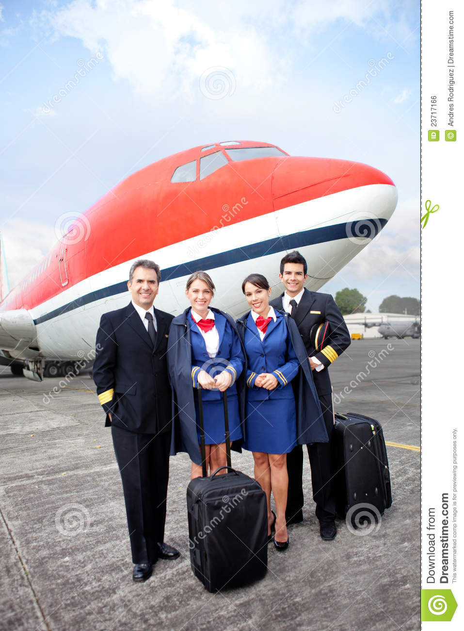 airplane cabin crew stock photo  image of airliner  adults