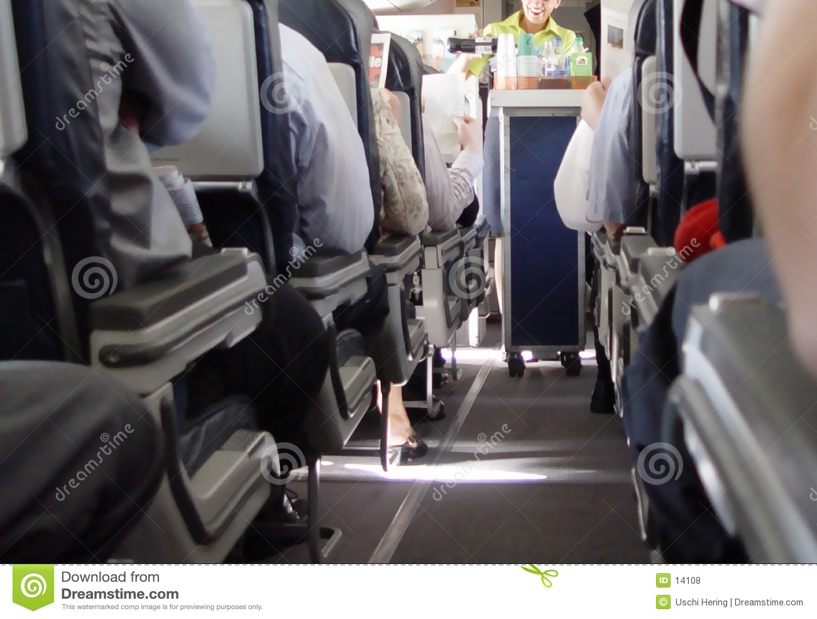 airplane corridor