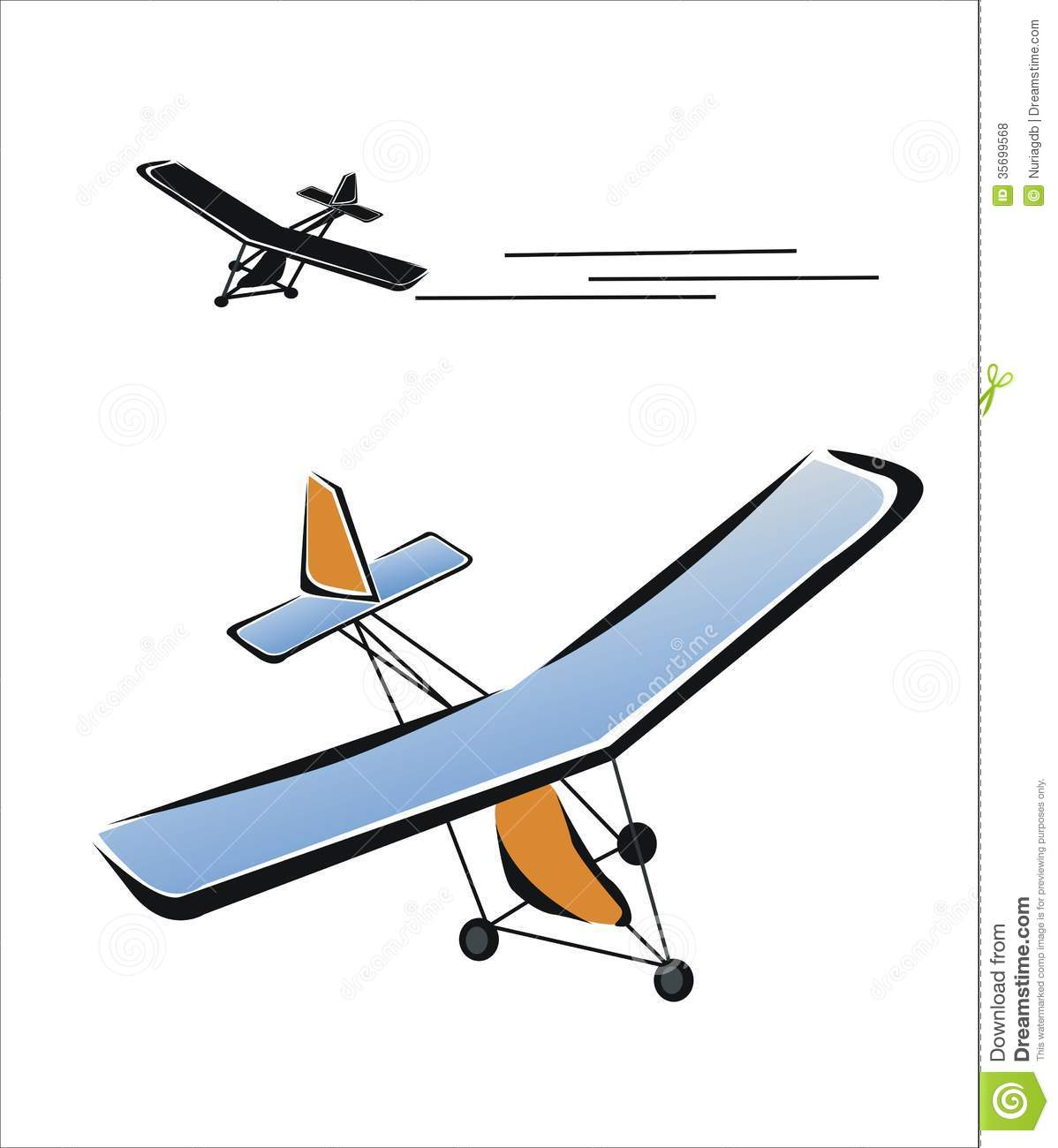 Airplane 2 Royalty Free Stock Photos Image 35699568