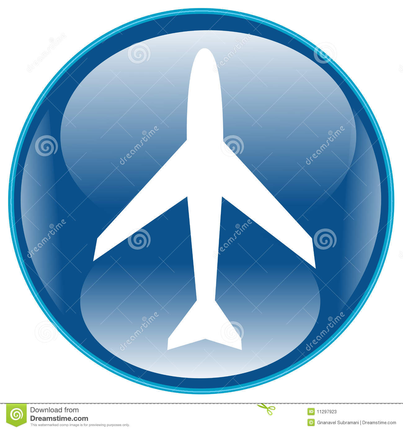 airplane icon stock photos image 11297923