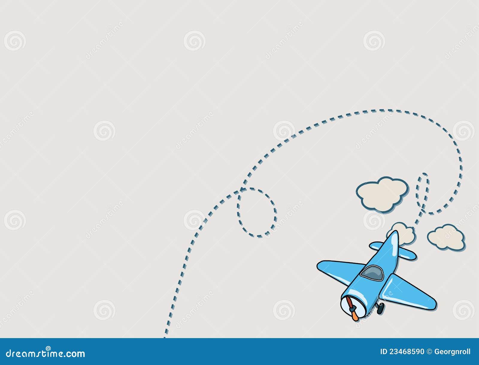 Airplane Illustration Stock Photo - Image: 23468590