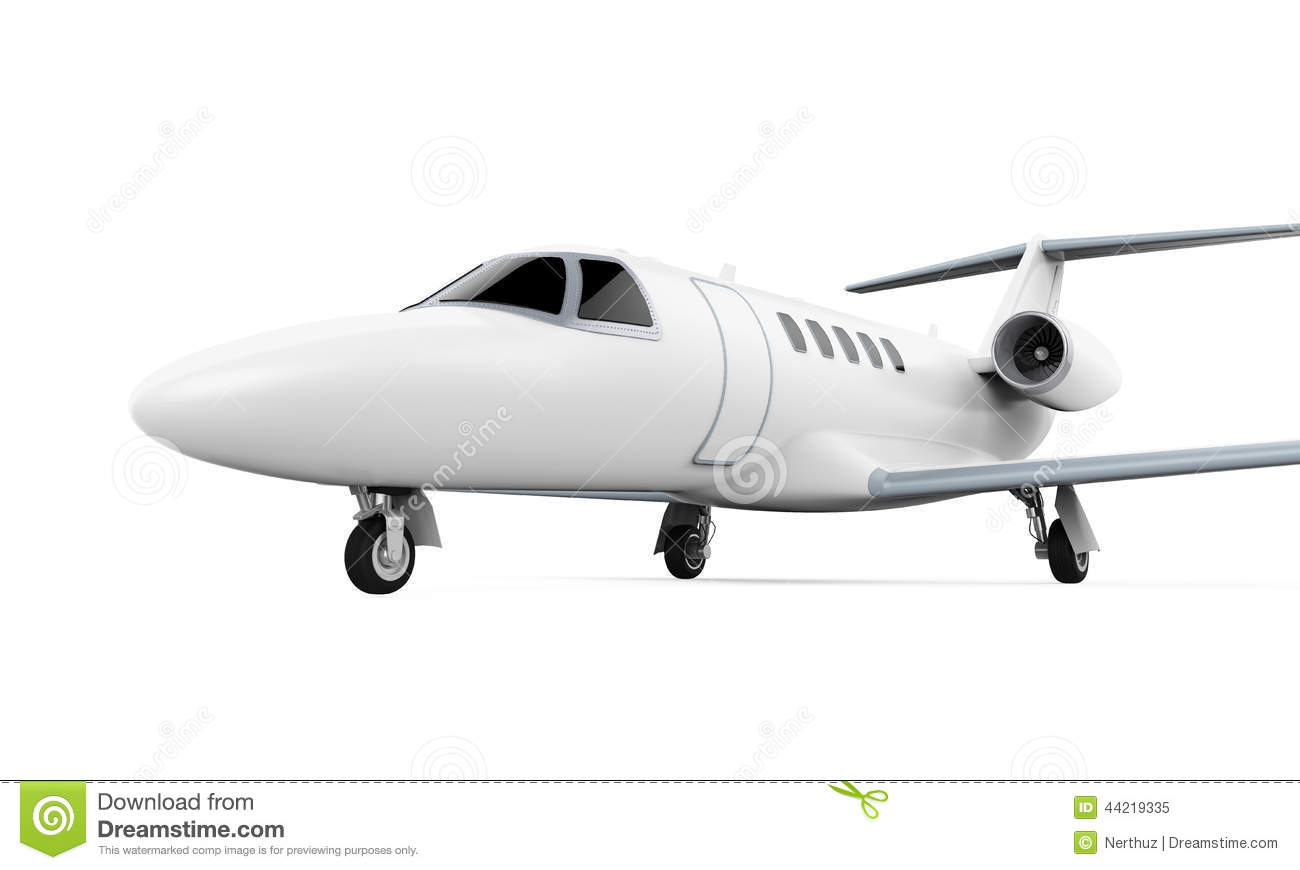 Airplane Jet Isolated Stock Illustration - Image: 44219335