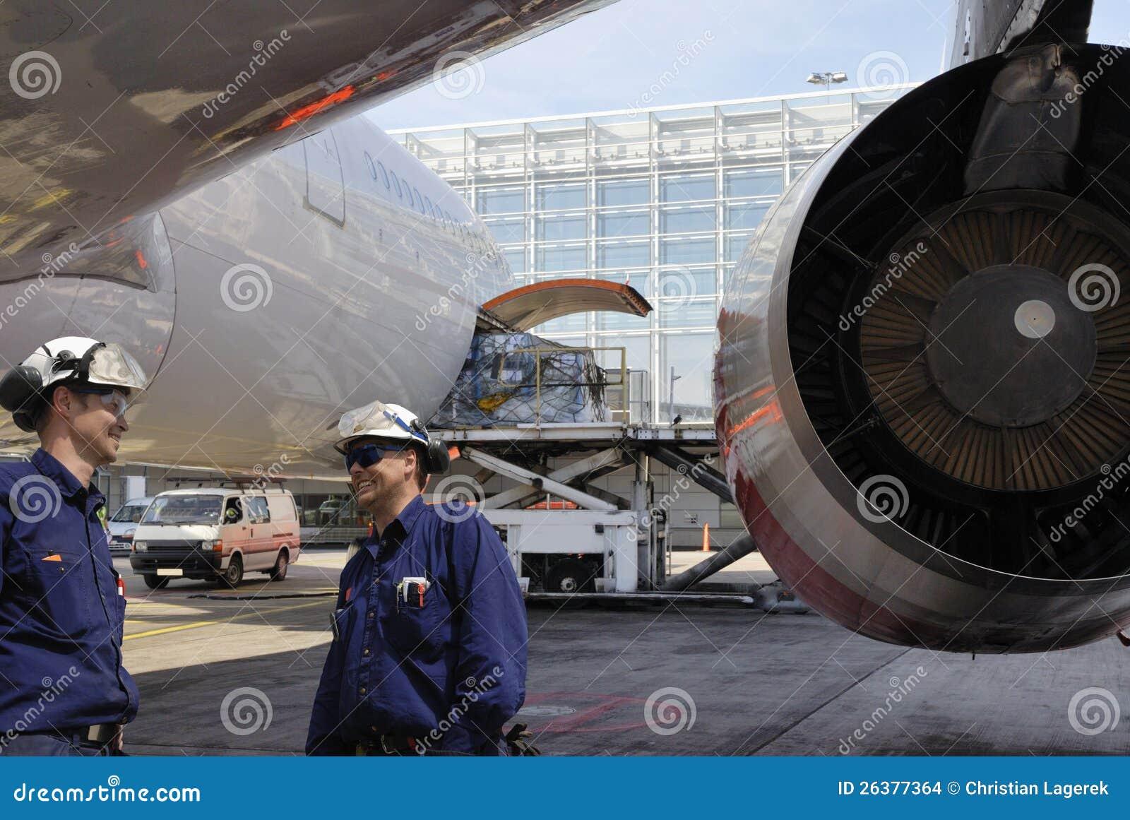 airplane mechanics and jet engine stock images image