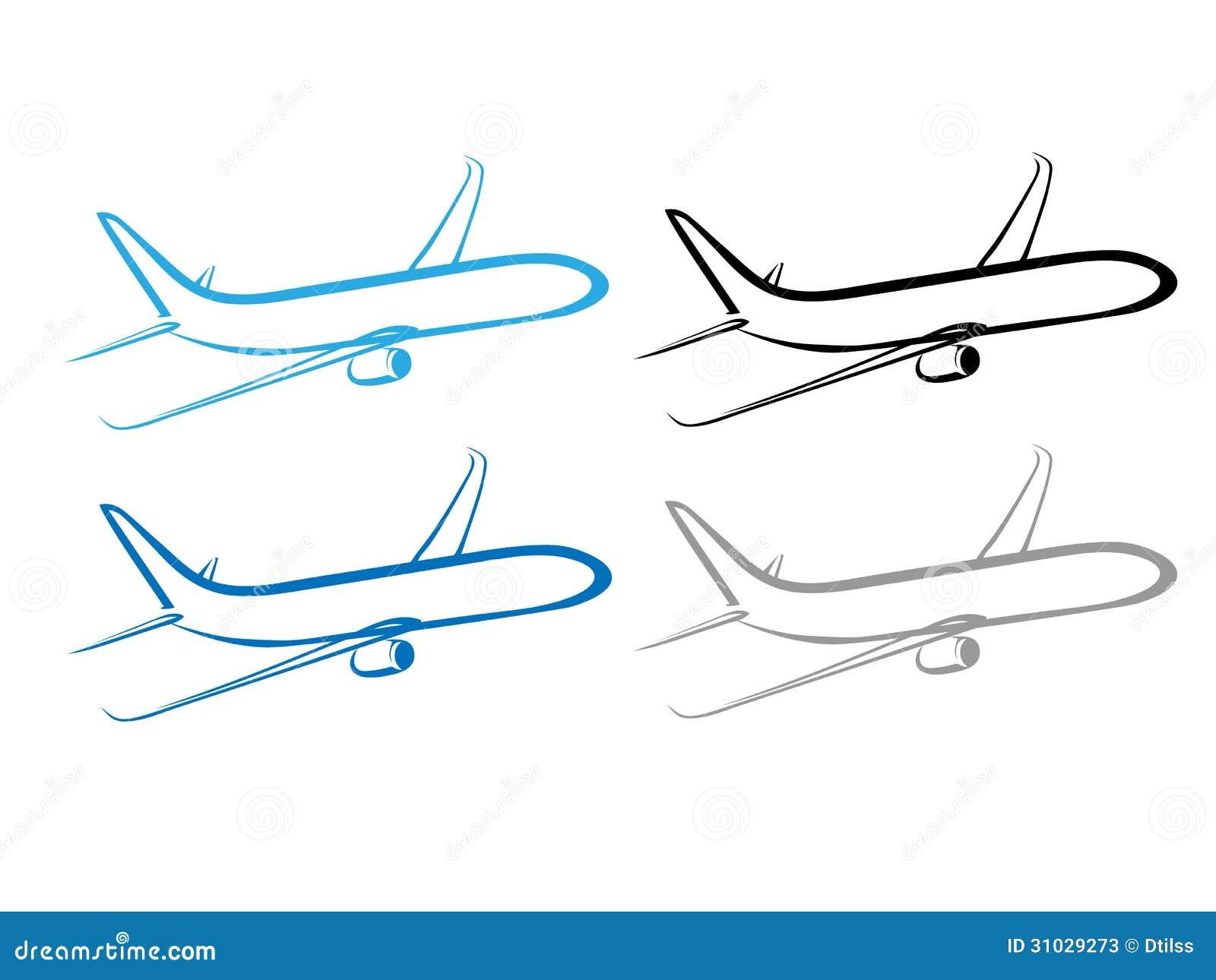 Airplane plane airplane symbol stylized airplane stock vector airplane plane airplane symbol stylized airplane buycottarizona Gallery