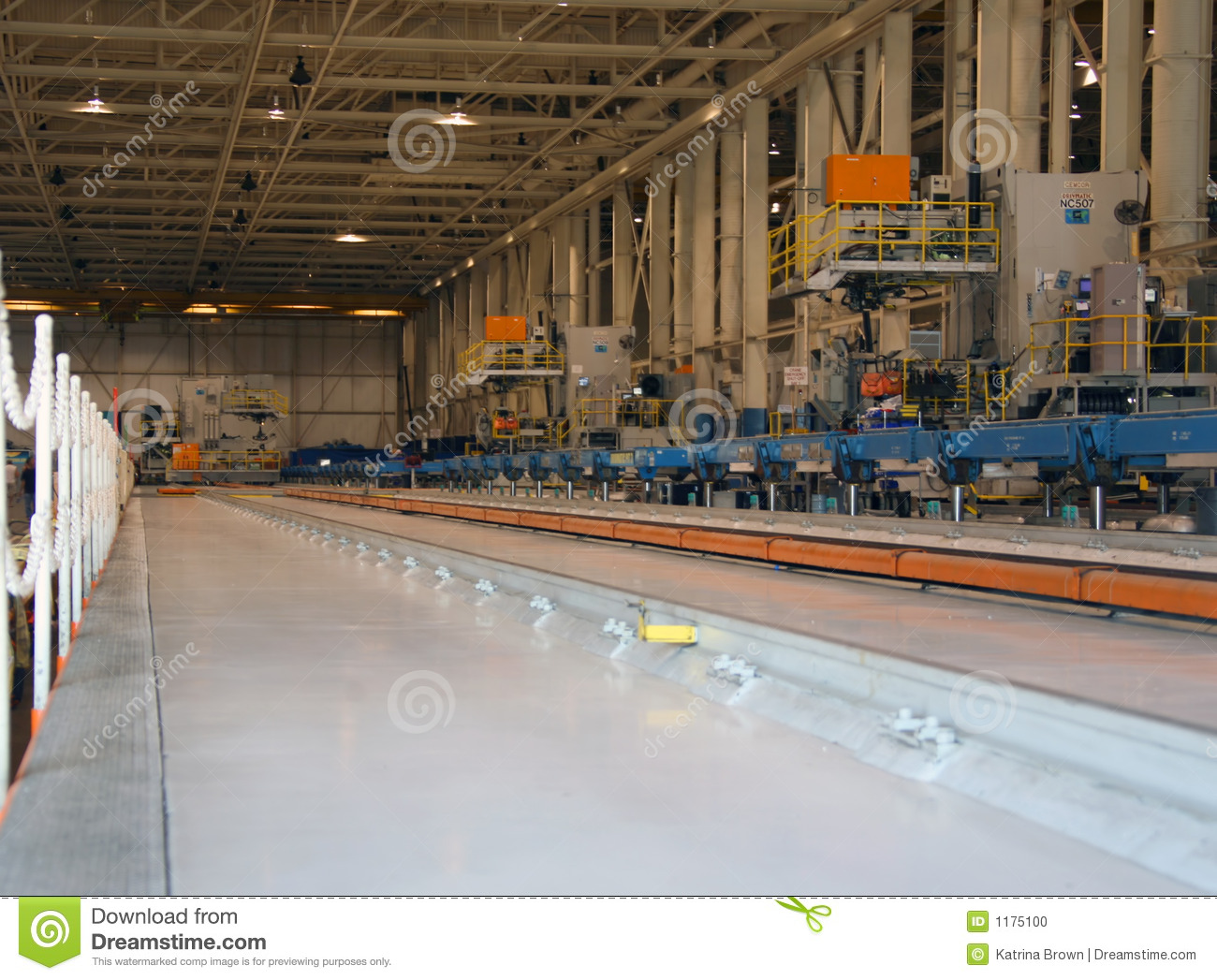 inside aerospace production facility - photo #10