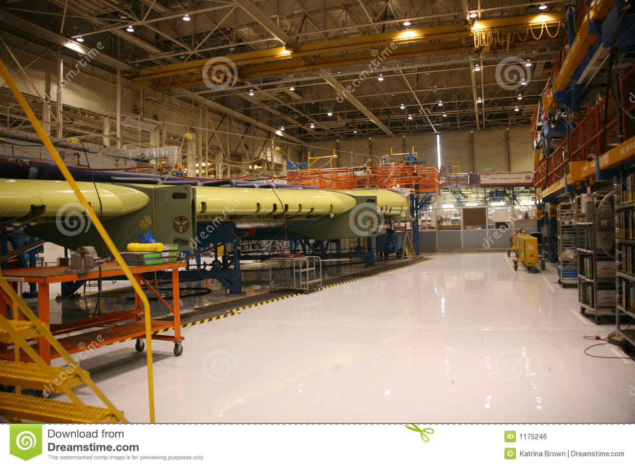 Airplane Production Factory