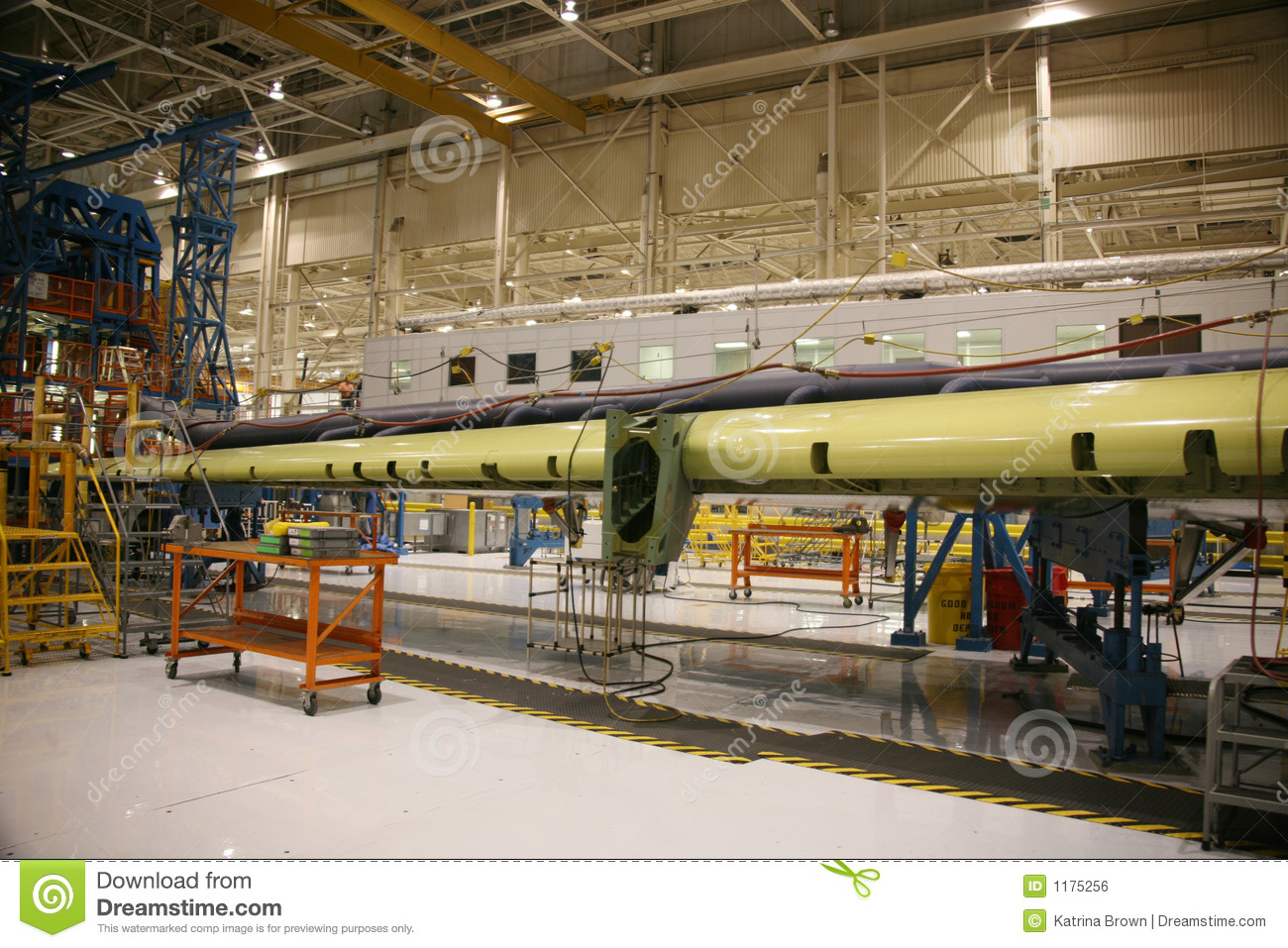 inside aerospace production facility - photo #24