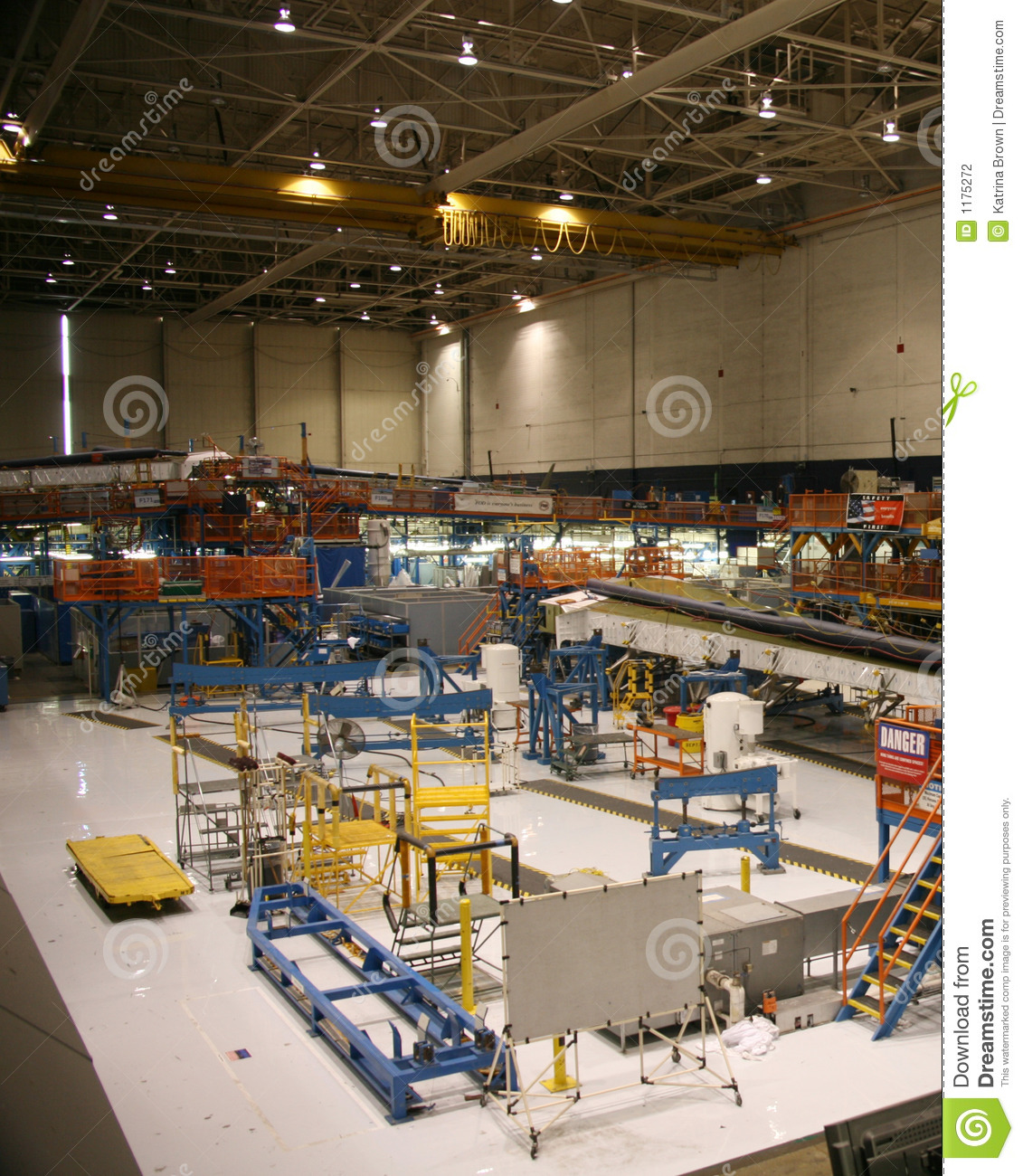 inside aerospace production facility - photo #25