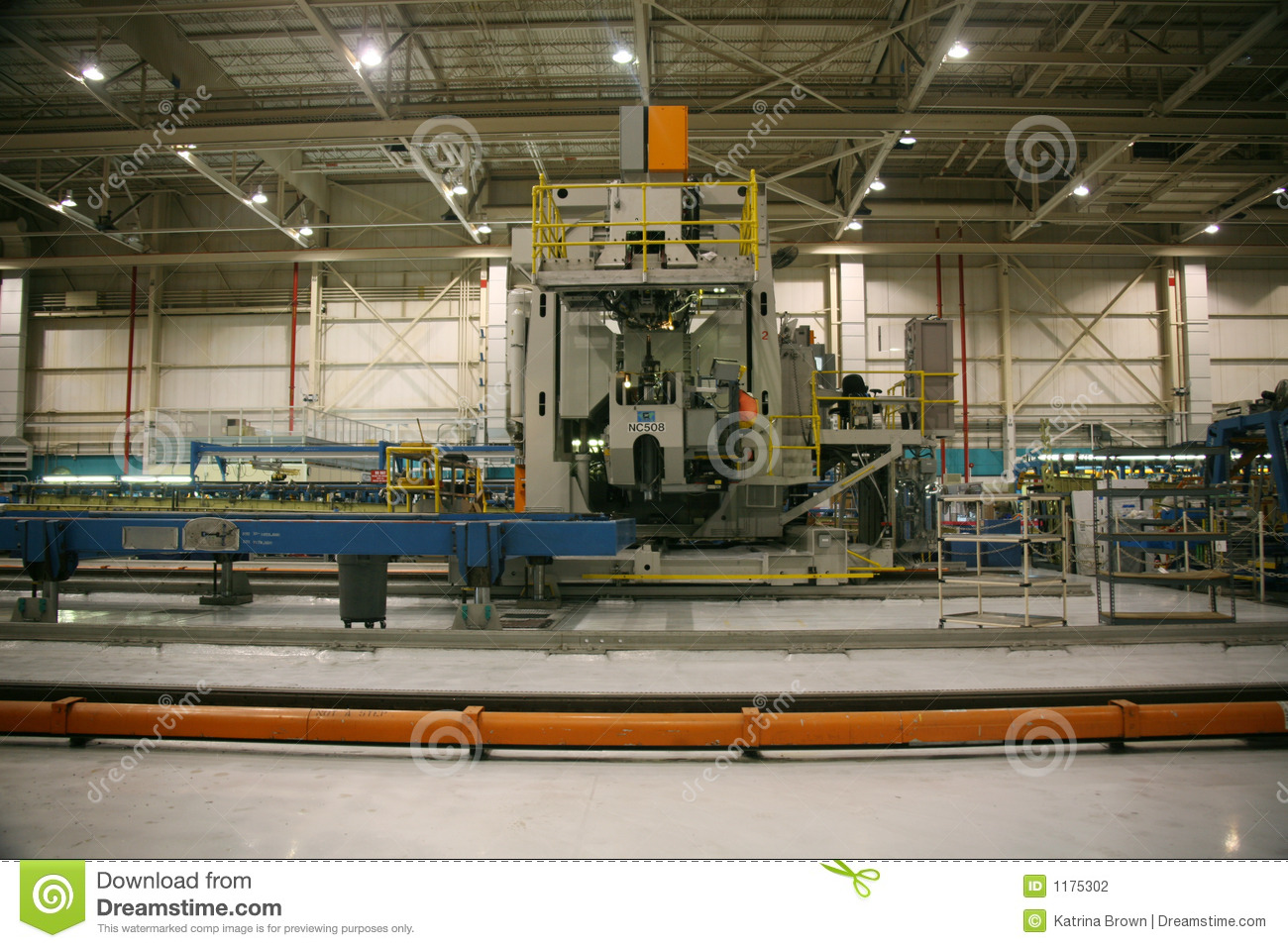 inside aerospace production facility - photo #19