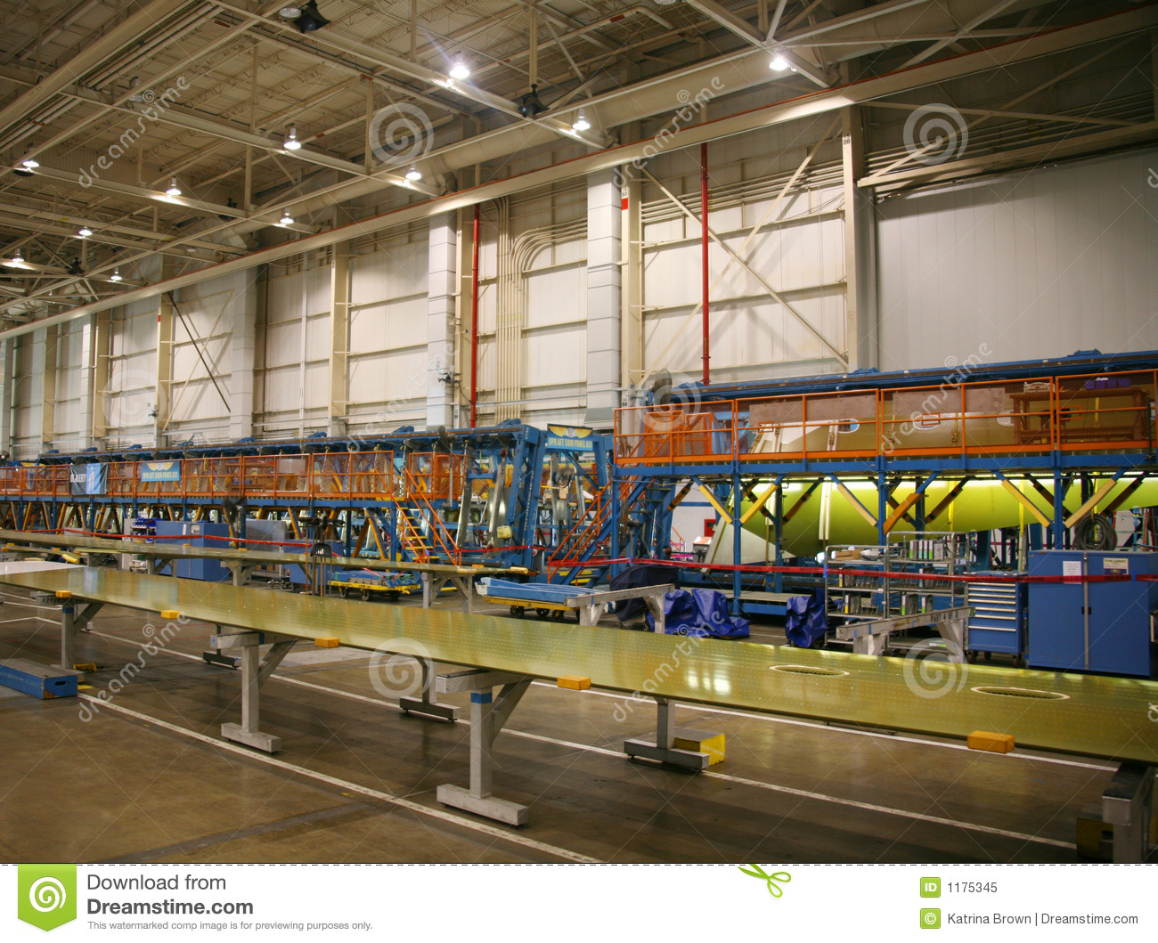 inside aerospace production facility - photo #22