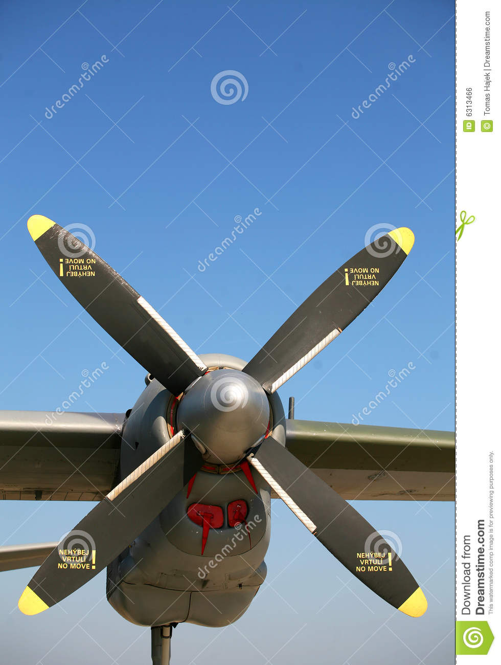 Airplane Propeller Royalty Free Stock Image - Image: 6313466