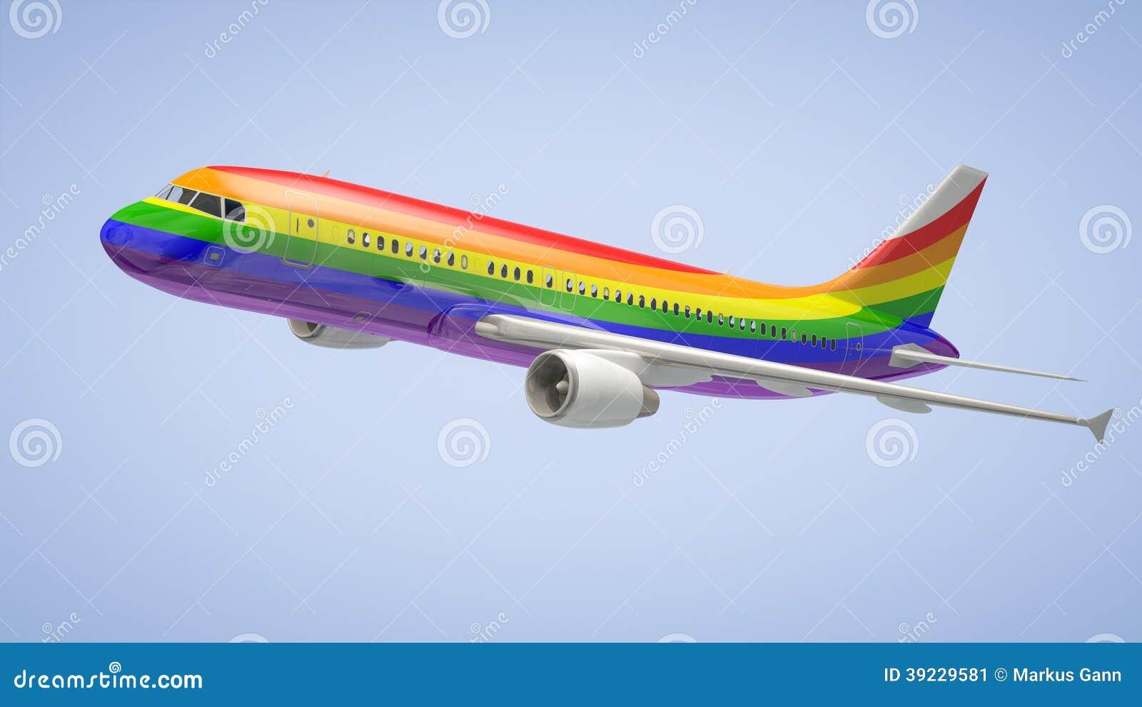Plane Graphic Design