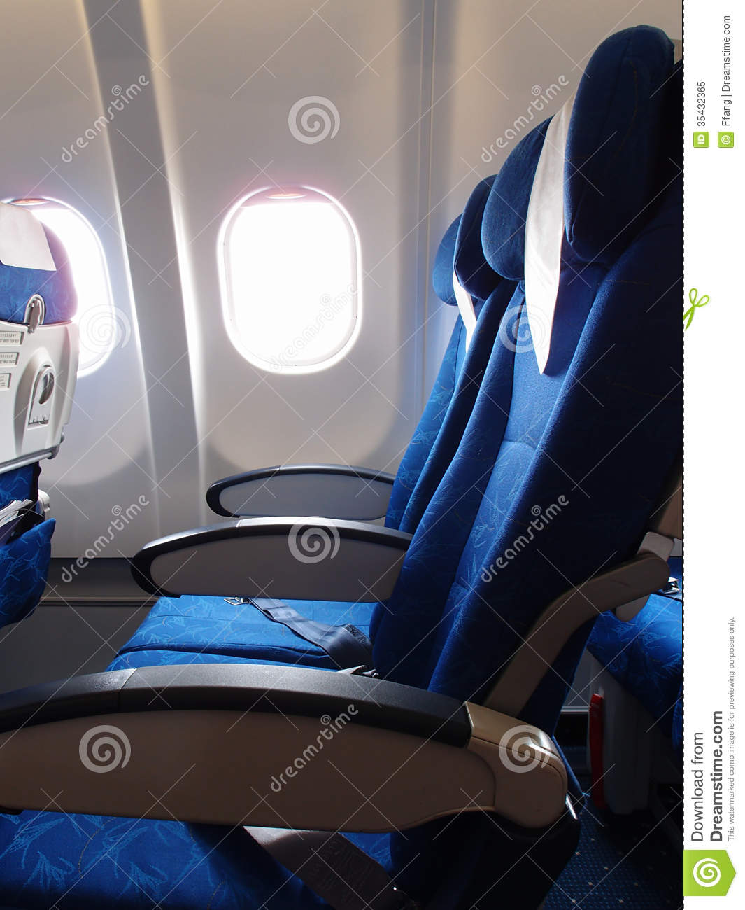 Sensational Airplane Seat And Window Stock Image Image Of Business Bralicious Painted Fabric Chair Ideas Braliciousco