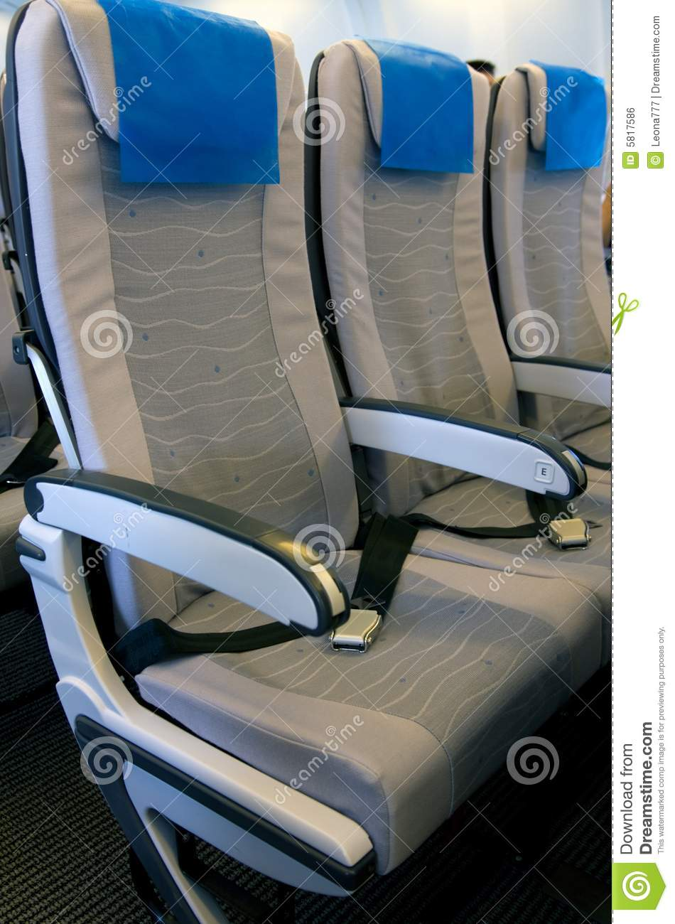 airplane seats royalty free stock image image 5817586