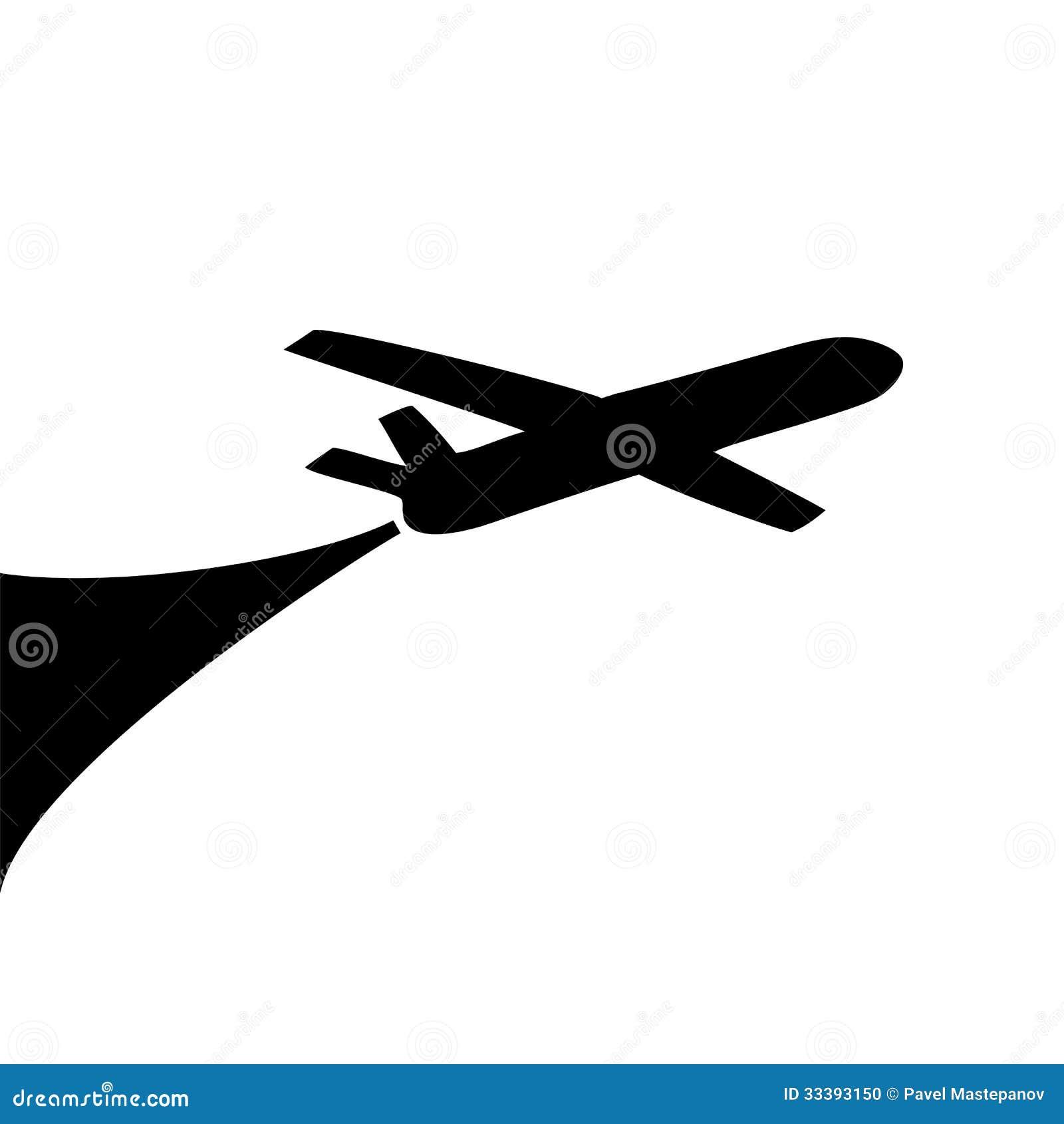 Airplane symbol design stock vector illustration of airplane airplane symbol design buycottarizona Gallery