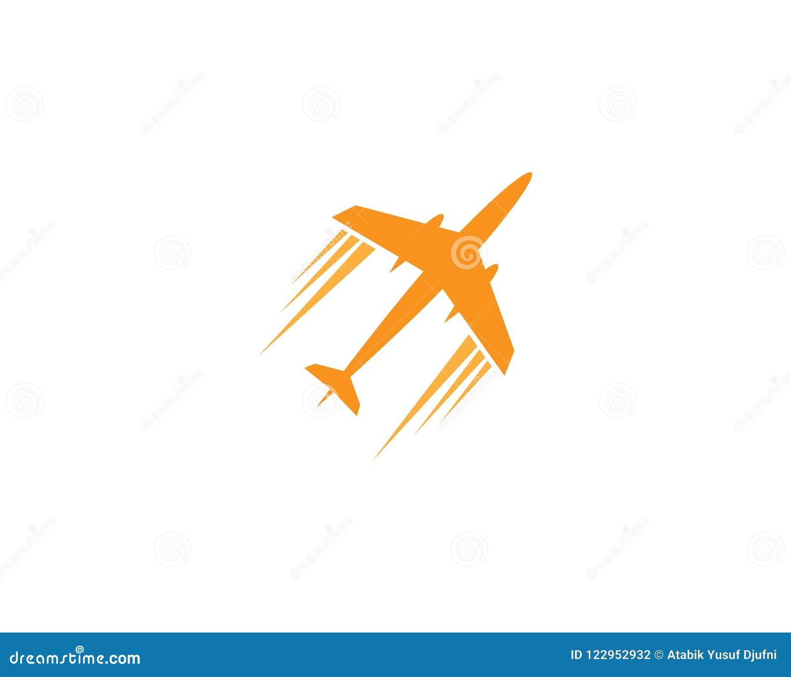 Airplane Symbol Illustration Stock Vector Illustration Of Plane