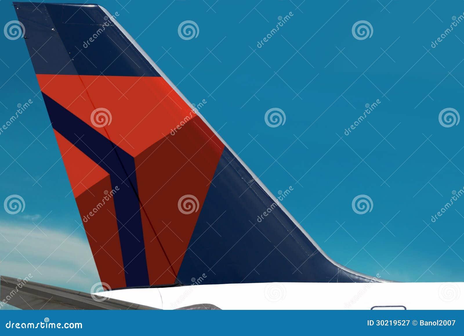 Delta air lines logo plain sky editorial photography image of delta air lines logo plain sky editorial stock photo biocorpaavc Choice Image