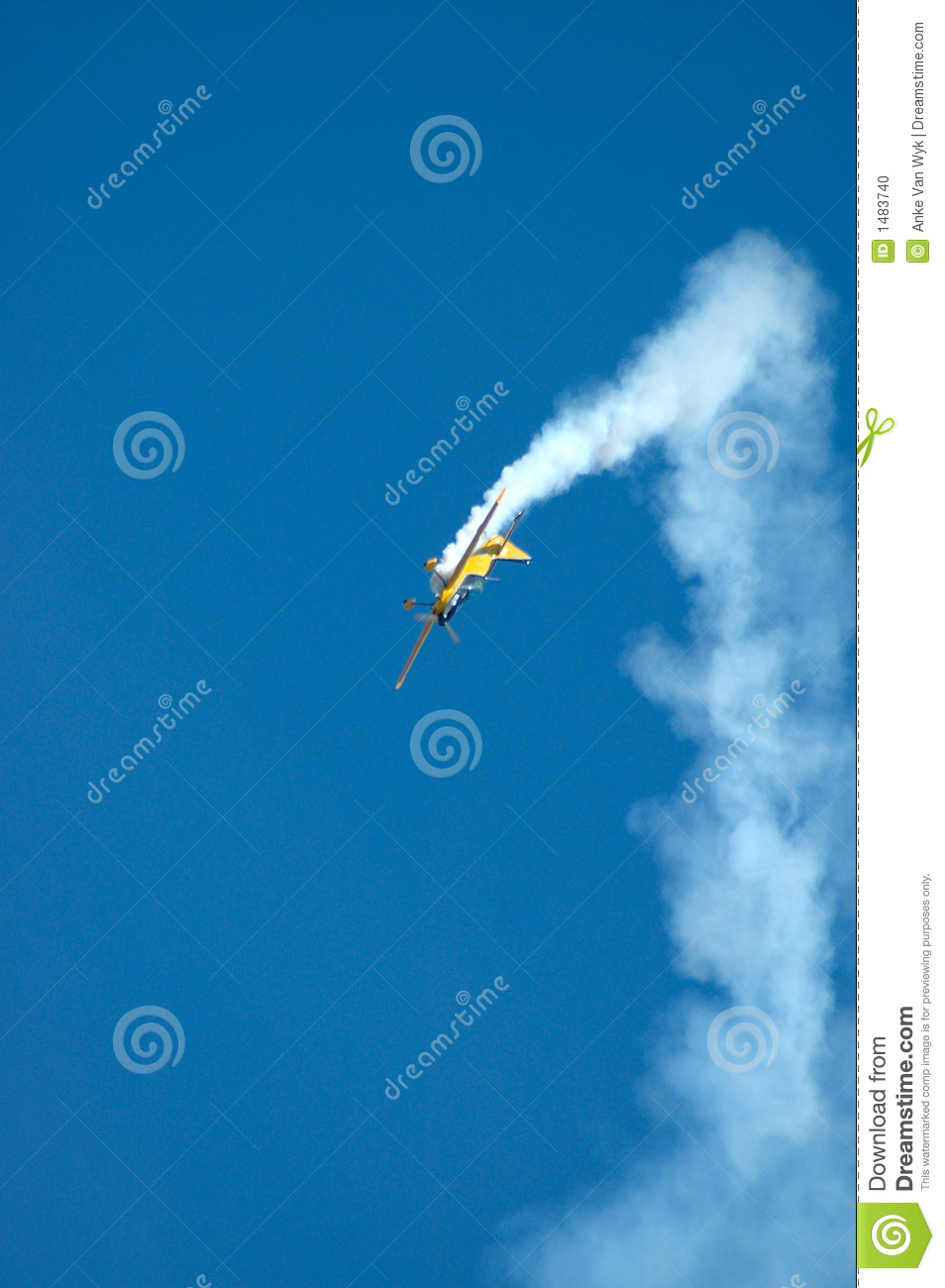 Airplane In Trouble Stock Photo - Image: 1483740  Airplane In Tro...
